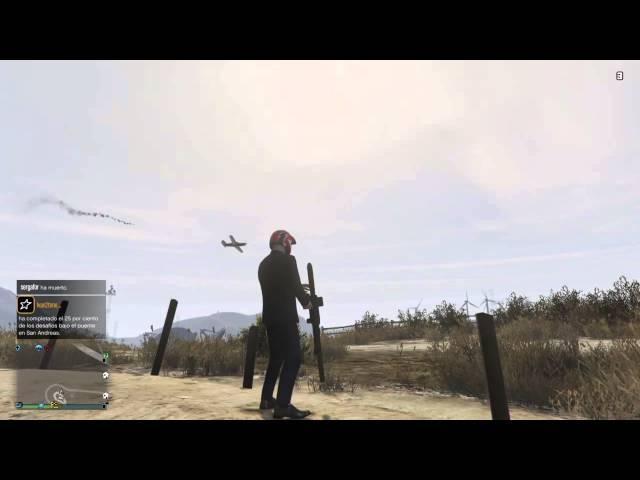 GTA V Lanzacohetes teledirigido GEOS