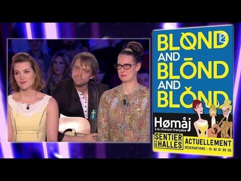 Vidéo Blond and Blond and Blond - On n'est pas couché 17 janvier 2015 #ONPC
