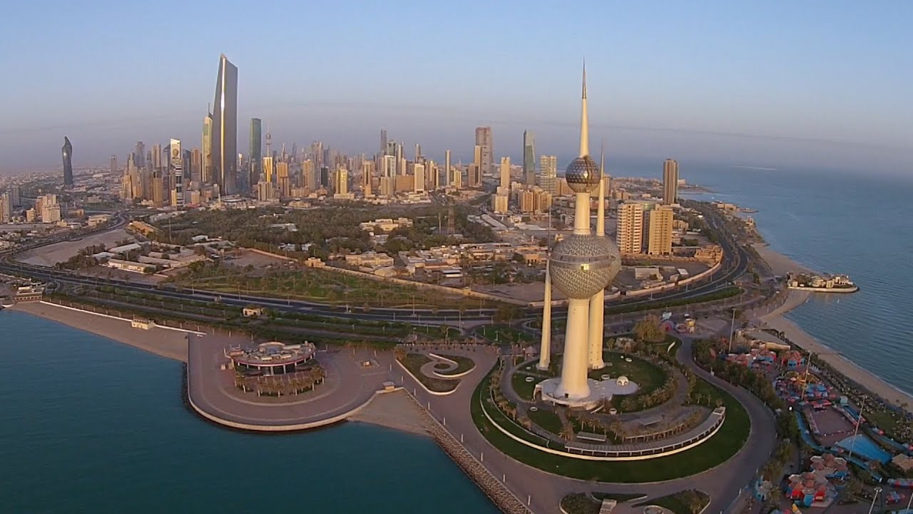 Kuwait City Aerial Footage YouTube