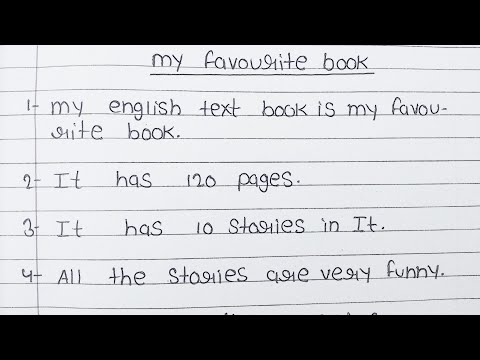 10 lines on my favourite book in English/ essay on my favourite book in English/ my favourite book