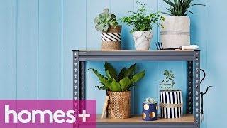 Paint Can Diy Idea #5: Decorative Plant Pots - Homes+