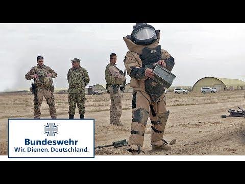Deutscher Advisor im Krisengebiet Afghanistan - Bundeswehr