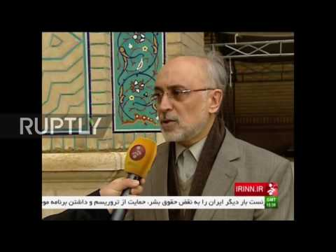 Iran: Salehi says extension of ISA will violate the Iran deal