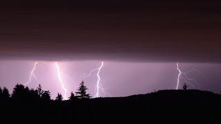 Noční bouřky 9. srpen / Night Thunderstorms August 9th 2017