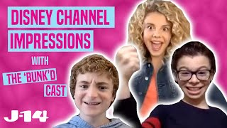 BUNK'D Stars Mallory, Will and Raphael Do Disney Channel Impressions