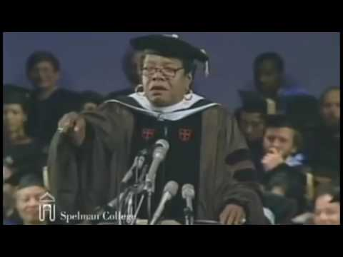 Maya Angelou Graduation