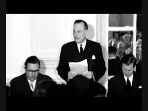 Enoch Powell's Rivers Of Blood Speech