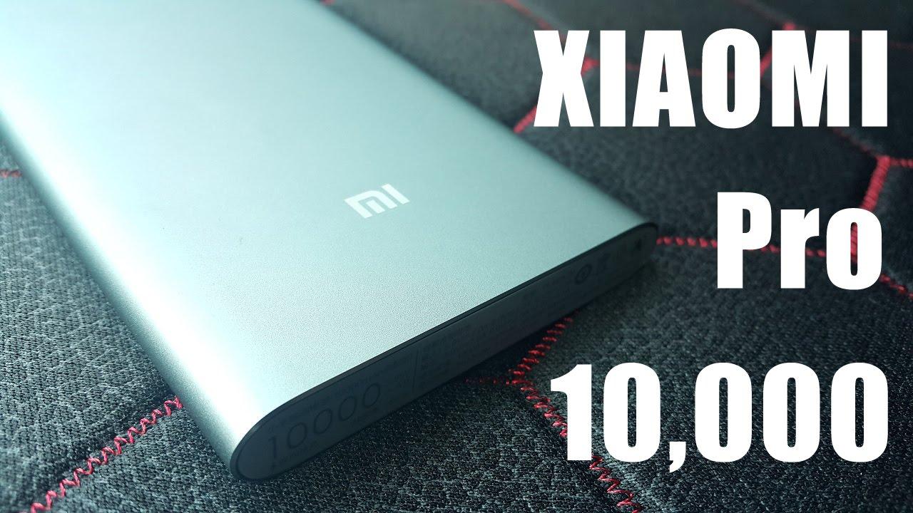 Xiaomi Power Bank Pro 10000mAh - Обзор нового аккумулятора
