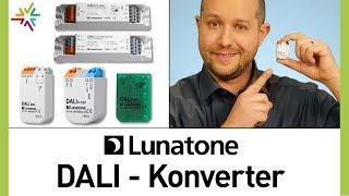 Normale Leuchte mit DALI verwenden - Die Lunatone DALI Konverter
