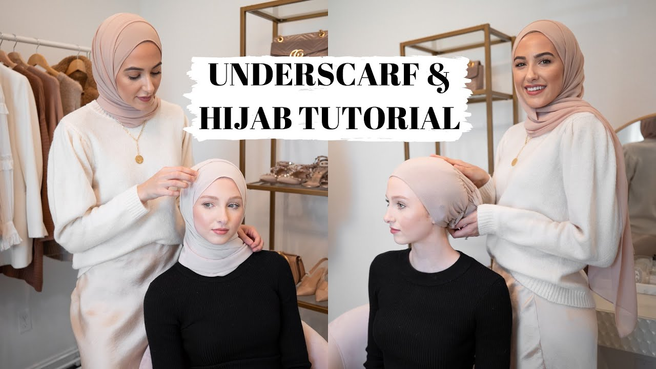 Everyday Hijab Tutorial How I Do My Underscarf Youtube