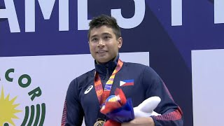 James Deiparine sets new SEA Games record | 2019 SEA Games