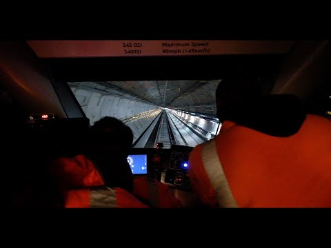 Crossrail Infrastructure Testing: First Footage Of New Elizabeth Line Train Being Tested In Tunnels