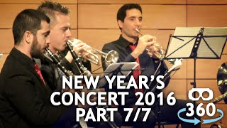 Concert 360º #VirtualReality Classical Music New Year's Concert Part 07 - 07 #360Video #VR