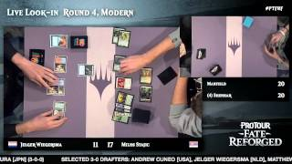 Pro Tour Fate Reforged Round 4 (Modern): Shahar Shenhar vs. Seth Manfield