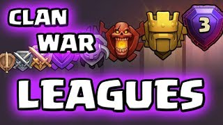 Clan War Leagues | Was ist das? | Neues CoC Update | Clash of Clans Deutsch | iTzu