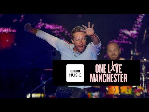 Coldplay  Fix You e Love Manchester