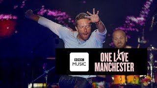 Coldplay Fix You One Love Manchester