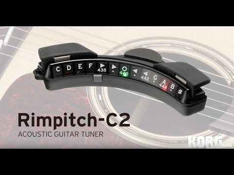 The Rimpitch-C2 - A reliable tuner that you attach to the sound hole of your instrument.