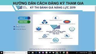 Hướng dẫn đăng ký online kỳ thi Đánh Giá Năng Lực ĐHQG TP HCM