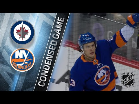 12/23/17 Condensed Game: Jets @ Islanders