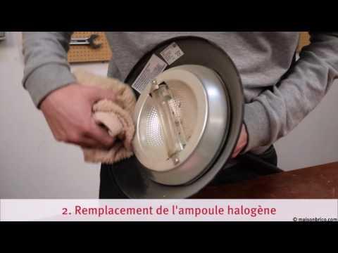 Dépanner un lampadaire halogène