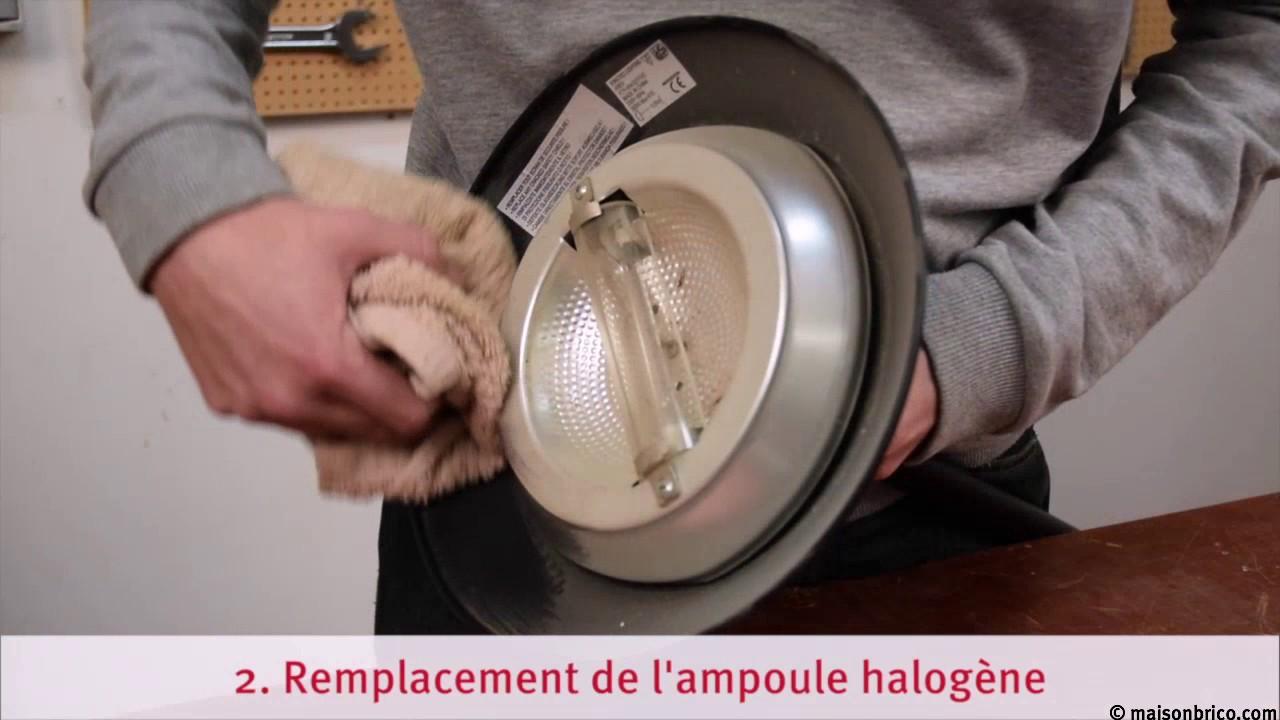 Depanner Un Lampadaire Halogene