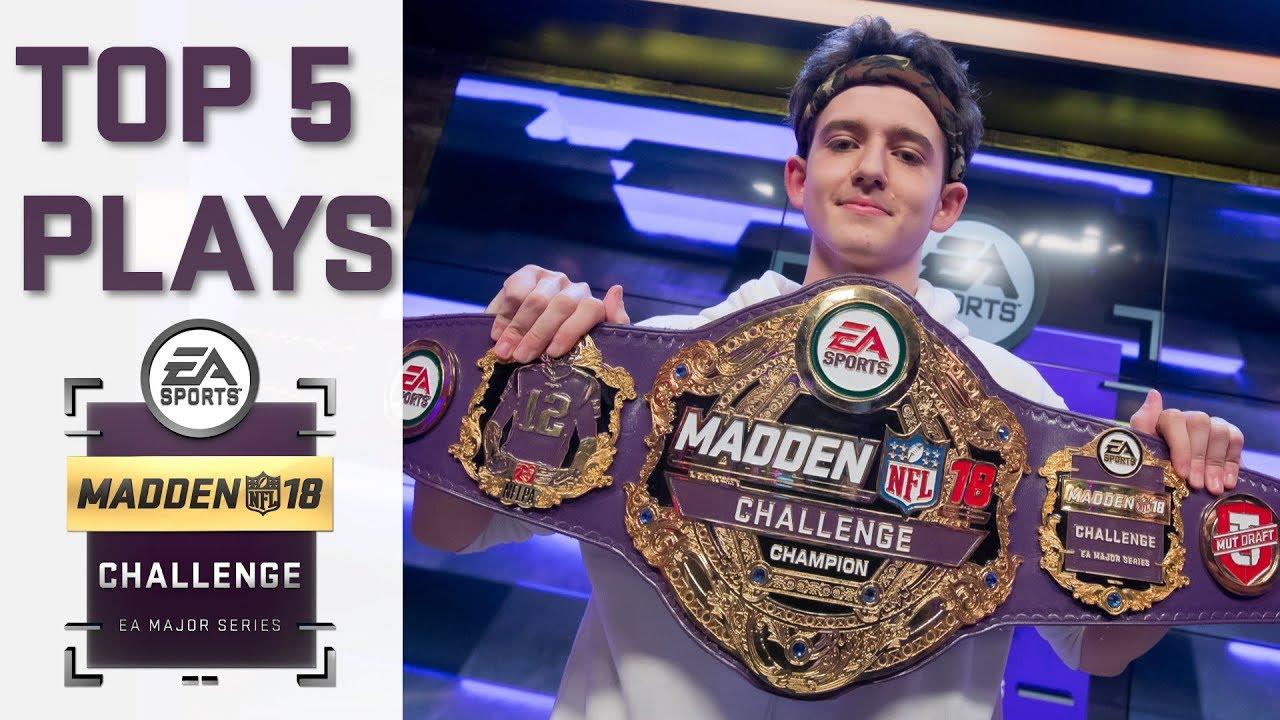 Madden 18 Challenge   Top Plays