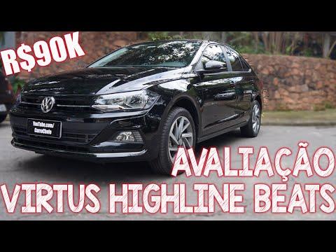 Avaliação Volkswagen Virtus TSI Highline 2019 com BEATS - a versão de 90 mil reais vale a pena?