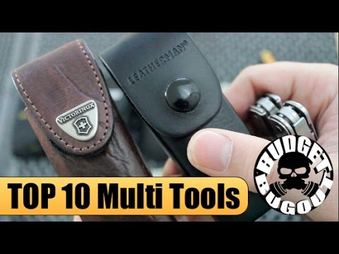 Top 10 Best EDC Multi Tools -- Multi Tool Comparison & Review | Leatherman, Gerber, Victorinox, SOG