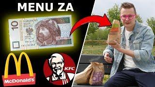 CZY ZA 10 ZŁ NAJEM SIĘ W McDONALDZIE, KFC, BURGER KING?!