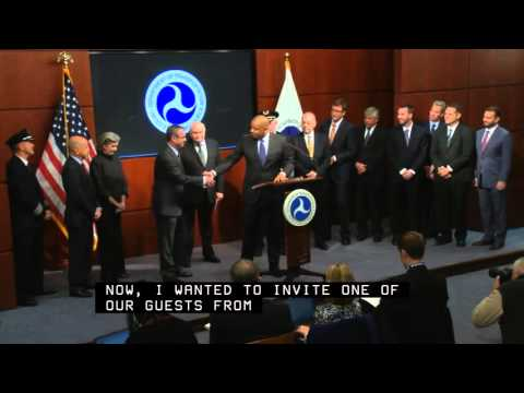 UAV US Dept of Transportation Press Conference
