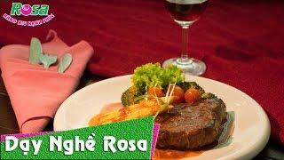 Cách làm Thịt Bò Beefsteak Rượu Vang Đỏ