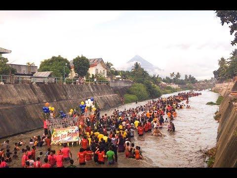 """BUYA"" Bongoran Oas, Albay Fluvial Procession of Señor San Roque."