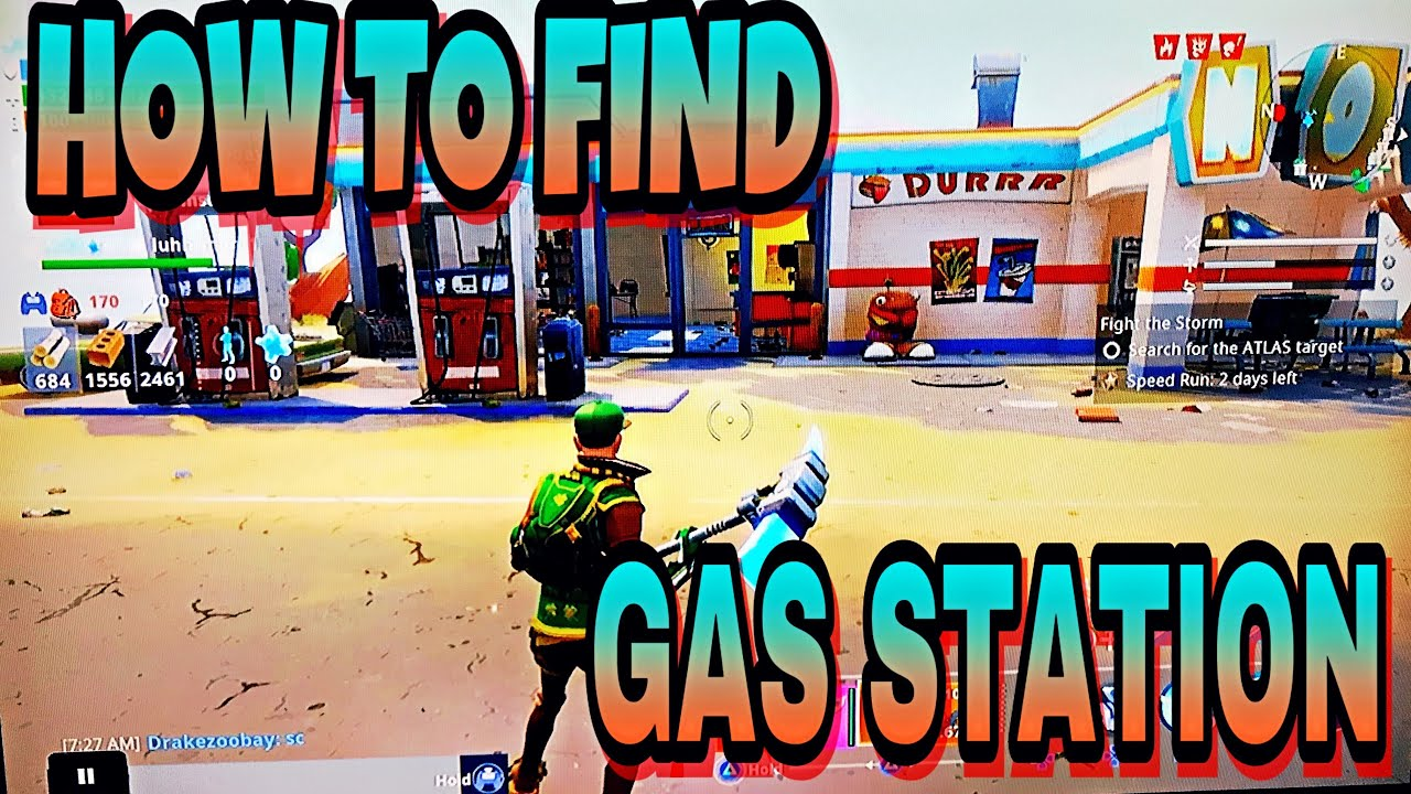 Find A Gas Station >> How To Find Gas Station In Fortnite Save The World