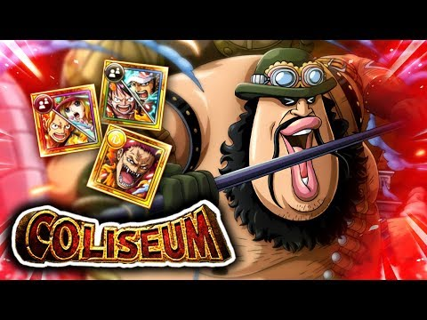 COLISEUM MORLEY! Stages 1 - 3 Playthrough! (ONE PIECE Treasure Cruise)