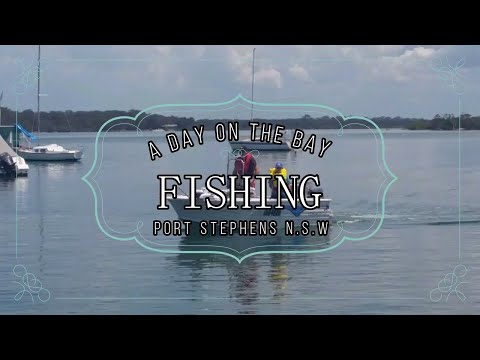 A Day On The Bay FISHING !!!