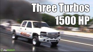 Three Turbos of Duramax Fury DOMINATE the Diesels