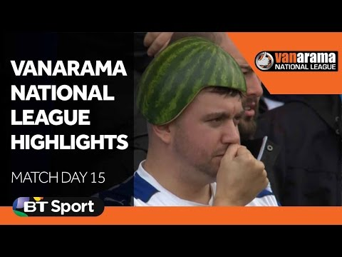 National League Highlights Show - Matchday 15