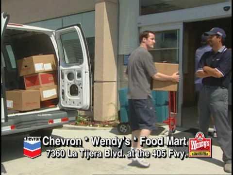 Alan Pietruszewski ChevronWendy's Commercial