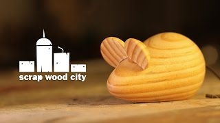 I made this mouse out a scrap piece of pine. For more information about this project, go here:...