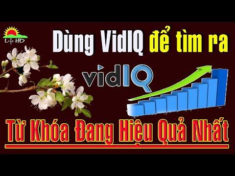 Hướng Dẫn Chi Tiết Cách sử dụng VidIQ Mới tìm ra từ khóa Hiệu quả cho Kênh