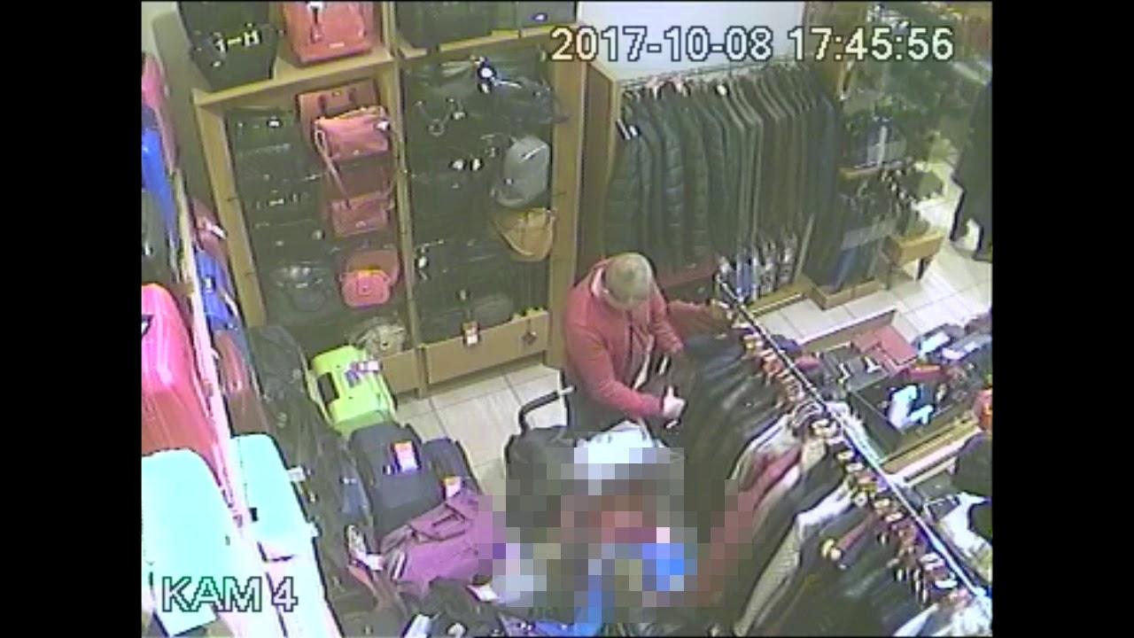 Ukradł kurtkę w centrum handlowym