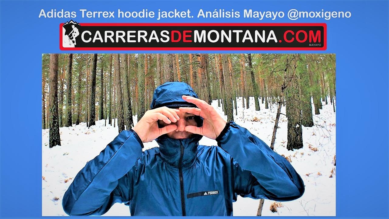 ballena Medalla moneda  Adidas Terrex Agravic Alpha Hooded Shield Jacket: Cortavientos trail y  montaña Análisis por Mayayo - YouTube