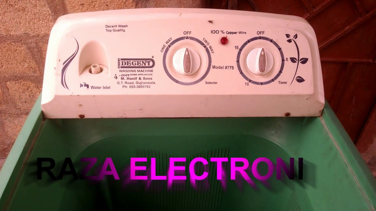 How To Repair Washing Machine At Home Complete Details In Urdu Hindi Youtube