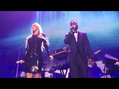 Mariah Carey & Trey Lorenz  'I'll Be There' At The Qatar Airways Hollywood Gala Dinner.