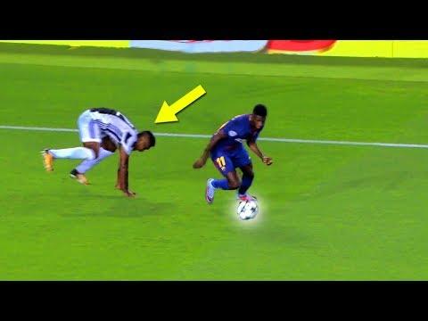 Ousmane Dembélé destroying Juventus (Barcelona vs Juventus)