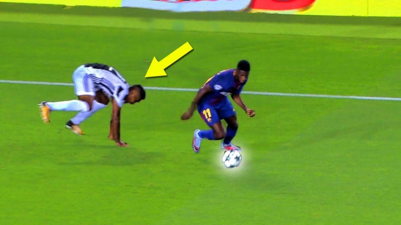 Ousmane dembl destroying juventus barcelona vs juventus youtube ousmane dembl destroying juventus barcelona vs juventus stopboris Images