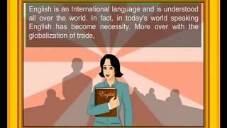 Spoken English Tutorial With Cartoon Animated Movie.