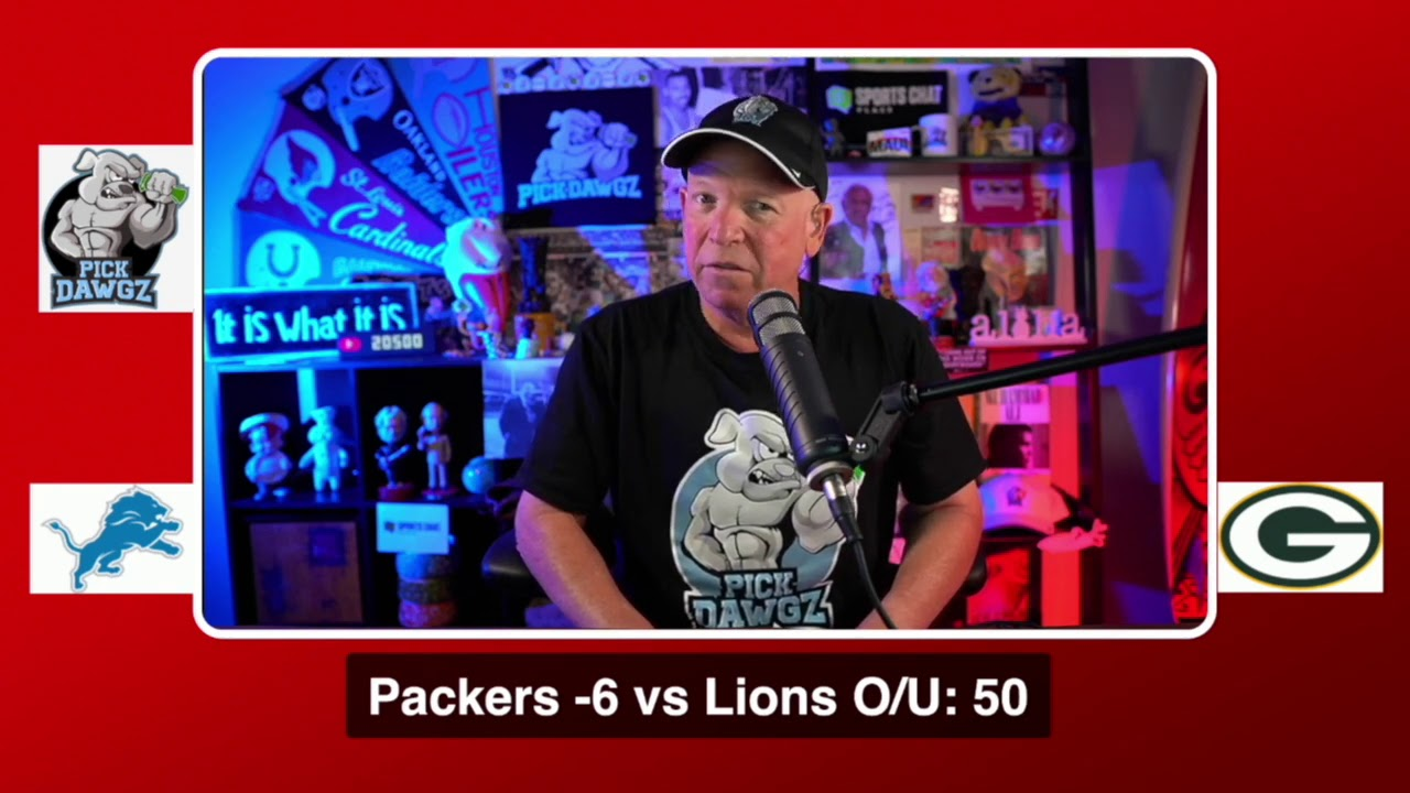 NFL Week 2 gambling guide: Best bets for Lions vs. Packers