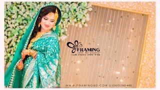 FRAMING || Wedding Reception Story || Shamrat Refan & Afroz Kakon